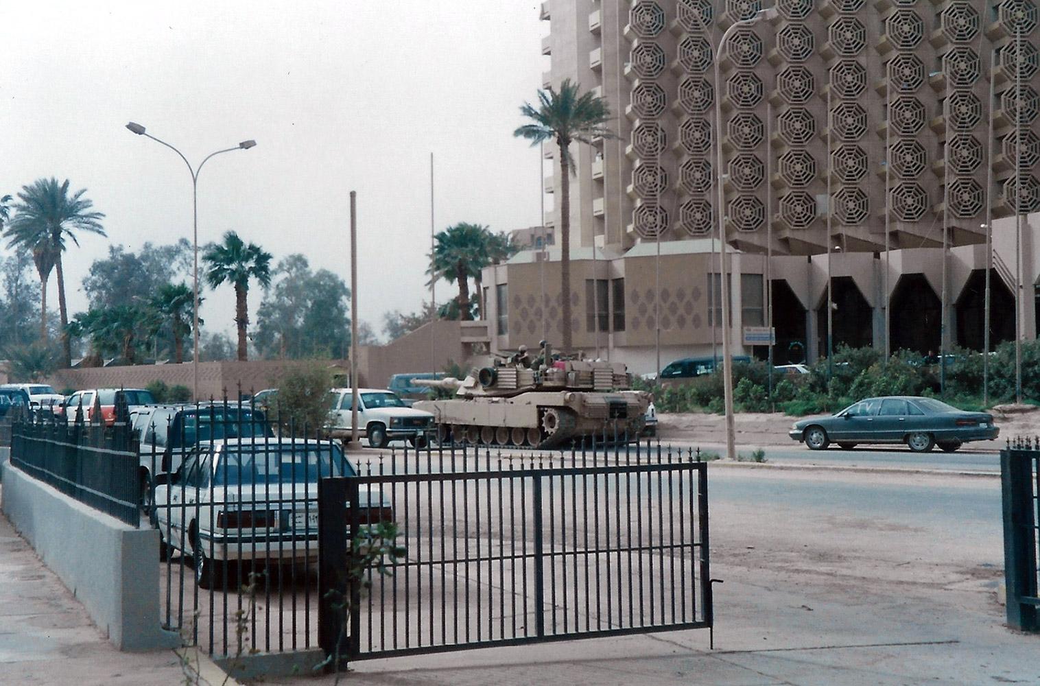 Tomàs Alcoverro - Batalla Bagdad 2003