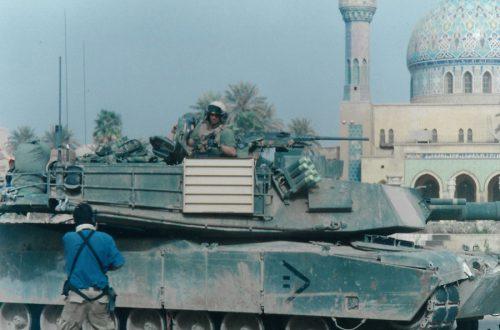 Tomás Alcoverro - Batalla Bagdad 2003