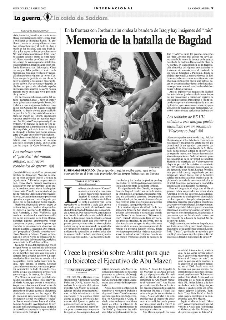 Historia triste del canario - Tomás Alcoverro