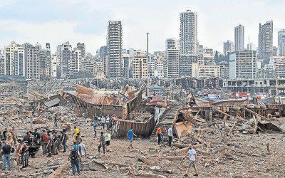 El día que tembló Beirut - Tomás Alcoverro