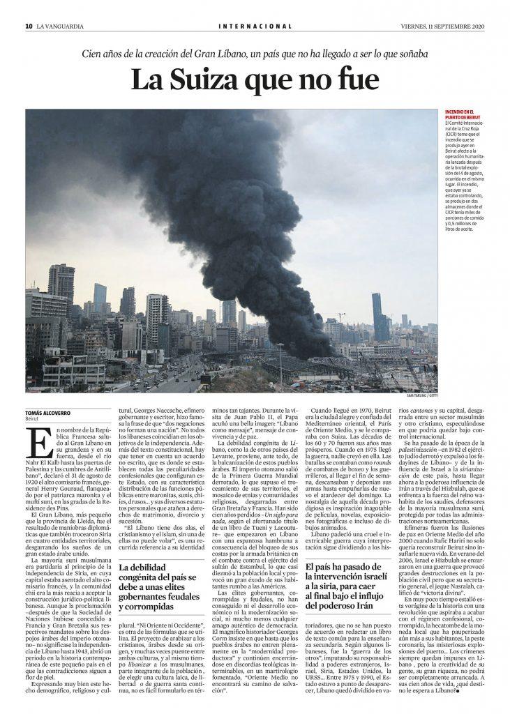 artículo La Suiza que no fue