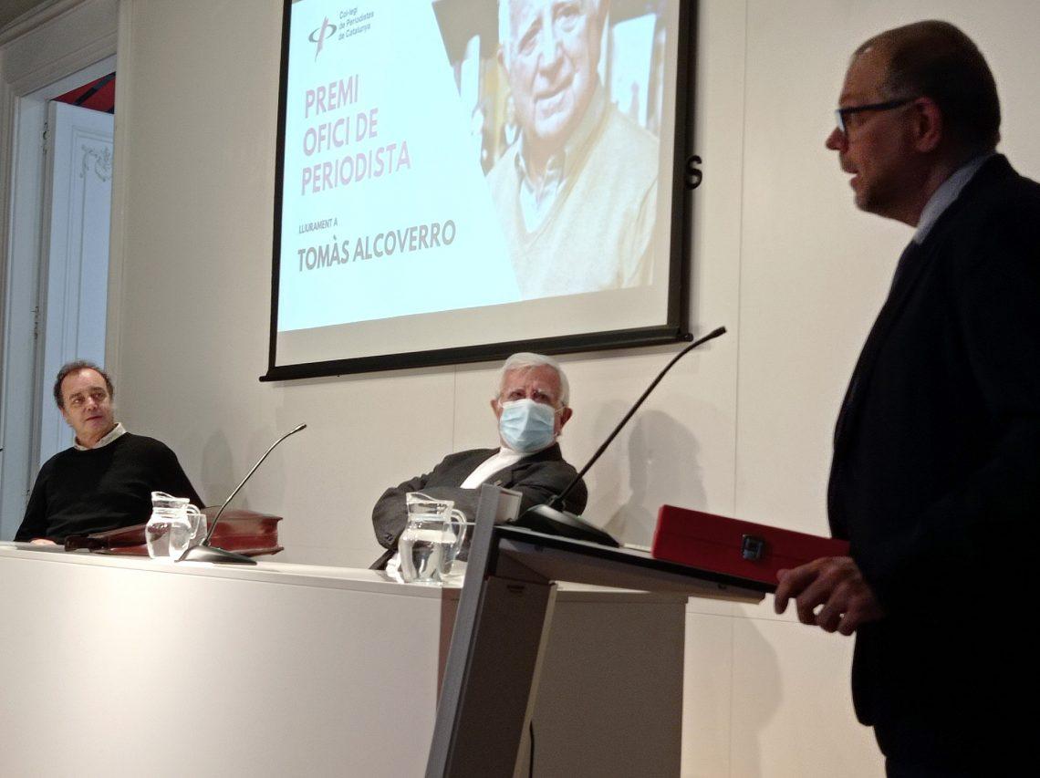 Premi Ofici de Periodista - Tomás Alcoverro