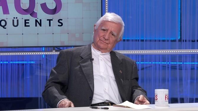entrevista FAQs TV3 - Tomás Alcoverro