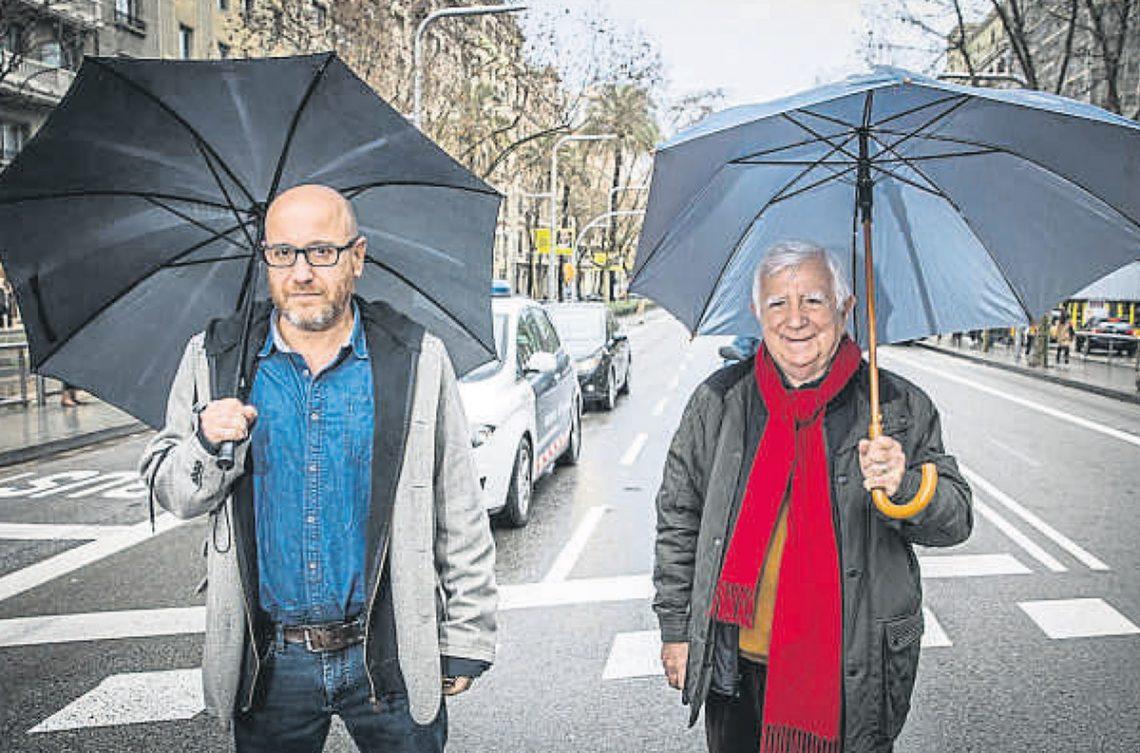 Plàcid Garcia-Planas y Tomás Alcoverro