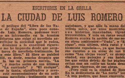 La ciudad de Luis Romero destacada